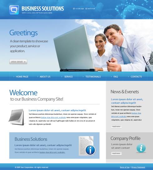 Technology & apps website templates | business | wix 2.